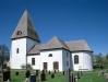Bergunda kyrka på 90-talet. Foto: Åke Johansson.