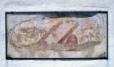 Bergunda kyrka - Målning på korets sydsida. Foto: Åke Johansson.