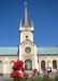 Tornet som visar att byggnaden är en kyrka.Foto:Bernt Fransson