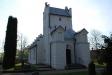 Ingången på Stora Råby kyrka