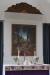 Altartavlan från 1930 av konstnären Justus Lundegård. Foto och