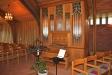 Kyrkan orgel.