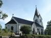 Exteriör juni 2014. Kyrkan är svår att fotografera.