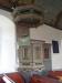 Predikstol från 1684 i 1795 års skrud