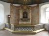 Altare och altarring från 1754