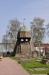 Speciell klockstapel vid Partille kyrka