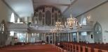 Församlingslokaler och kontor har flyttat in i kyrkan
