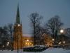 Bild ovanför predikstolen
