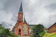 Oscar Fredriks kyrka juli 2014