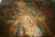 Modern takmälning i gammal kyrka