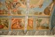Målningarna beskriver scener ur Kristi liv