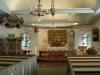 Vackra fönster i koret