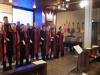 Askim Gospel sjunger i Mikaelskyrkan