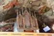 Orgeln på läktaren.