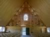 Glasfönster från gamla kyrkan