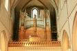 En av kyrkans orglar.