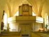 En Ecce Homo-skulptur vid det från gravkor omdanade interna kapellet.