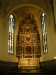 13 m hög och 6 m bred är den praktfulla altaruppsatsen av Evert Friis
