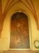 Predikstolen av ek är från 1618