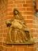 Den vackra och välbevarade Mariabilden från omkr. 1480