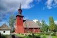 Hosjö kyrka juli 2014