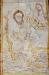 I triumfbågen finns legenden om Kristoffer  och Kristusbarnet.