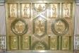 Altaruppsats från början av 1600-talet. Danske kungens och drottningens monogram överst har ändrats.