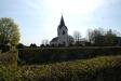 Kyrkan sedd från ´nya´ kyrkogården