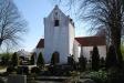 Framsidan på Nevihögs kyrka