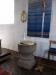 Kyrkans äldsta bevarade föremål är denna dopfunt av sandsten