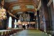 Den mycket vackra orgelfasaden från 1887 är ritad av Agi Lindegren.