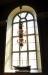 Ljusets kapell är inrett under läktaren