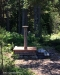 Soluret har en stenskiva med årtalet 1738 inristat
