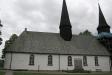 Leven kyrka under lagning