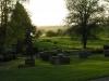 Underbar utsikt från kyrkbacken