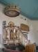 Predikstolen har kommit från den gamla kyrkan och sägs vara från 1600-talet