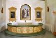 Altartavla målad av frk Anna Wirgin 1800-talet