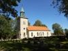 Orgelns fasad samt en stämma är bevarade från en orgel uppförd 1764 av Johan Ewerhardt d.ä. i Skara