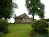 Kapellet sett från landsvägen.