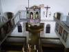Kyrkan sedd från läktaren.