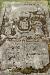 Mossan fyller i bokstäverna: Här hvilar kong. hofpr. prosten och kyrkoherden...