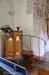Den gamla predikstolen har fått modern trappa