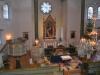 Julkrubba i Holmestads kyrka januari 2005