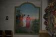 Gamal altartavla på läktaren