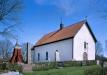 Vättlösa kyrka på 80-talet. Foto: Åke Johansson.