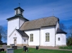 Skeby kyrka på 90-talet. Foto: Åke Johansson.