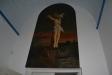 Målning i sakristian