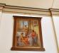 Kopia av kyrkomålaren Heinrich Hoffmans ´Mästaren på besök hos Maria och Marta´