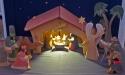 Högåskyrkans julkrubba
