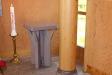 Kyrksalen mot altaret